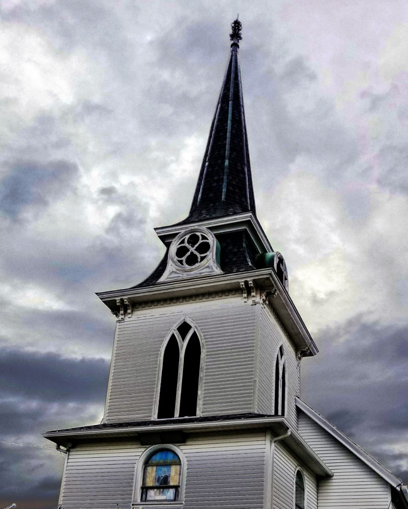 Steeple of Springdale Lutheran