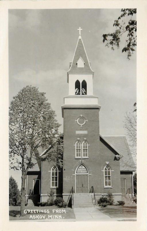 Bethlehem Lutheran circa 1950, as it looked when Asta was growing up.