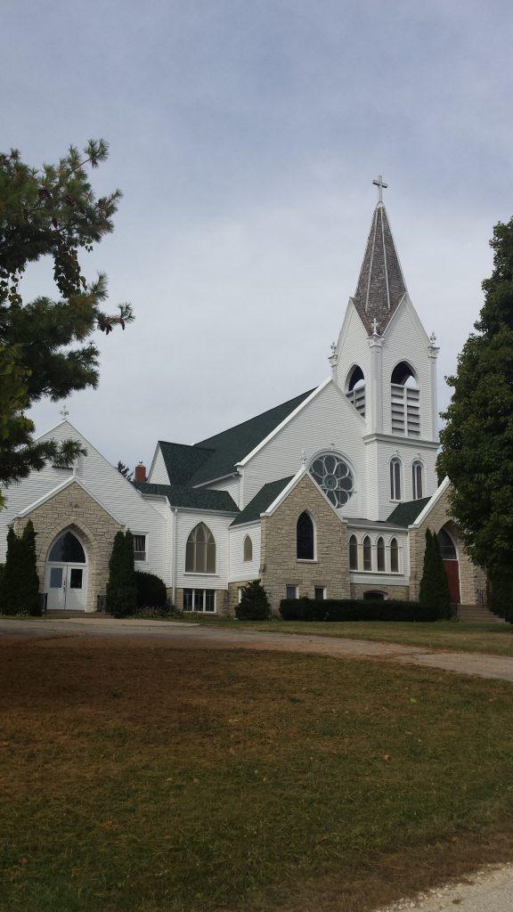 Jefferson Prairie Lutheran Church, Poplar Grove, Illinois.