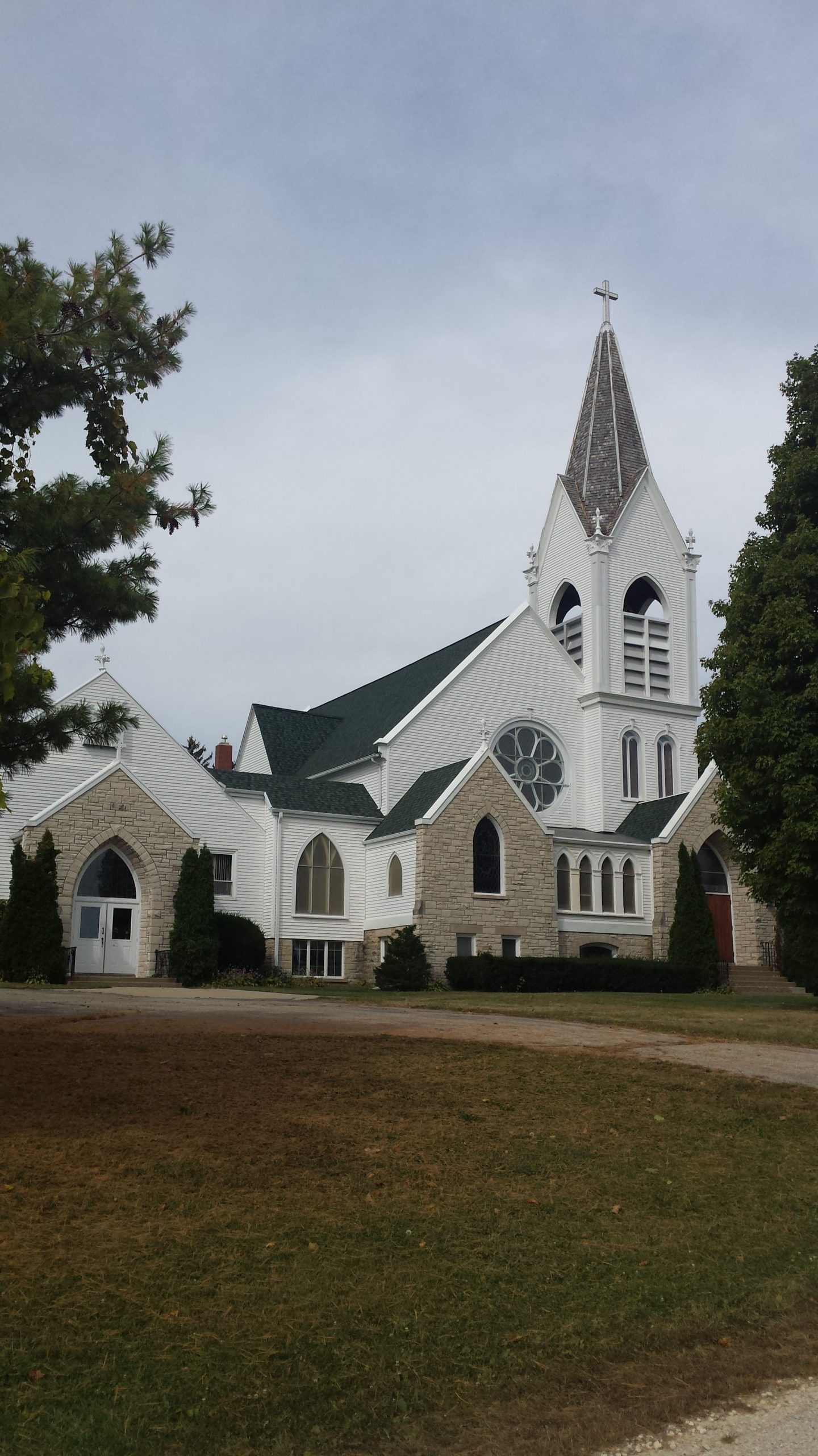 Jefferson Prairie Lutheran Church, Poplar Grove, Illinois.