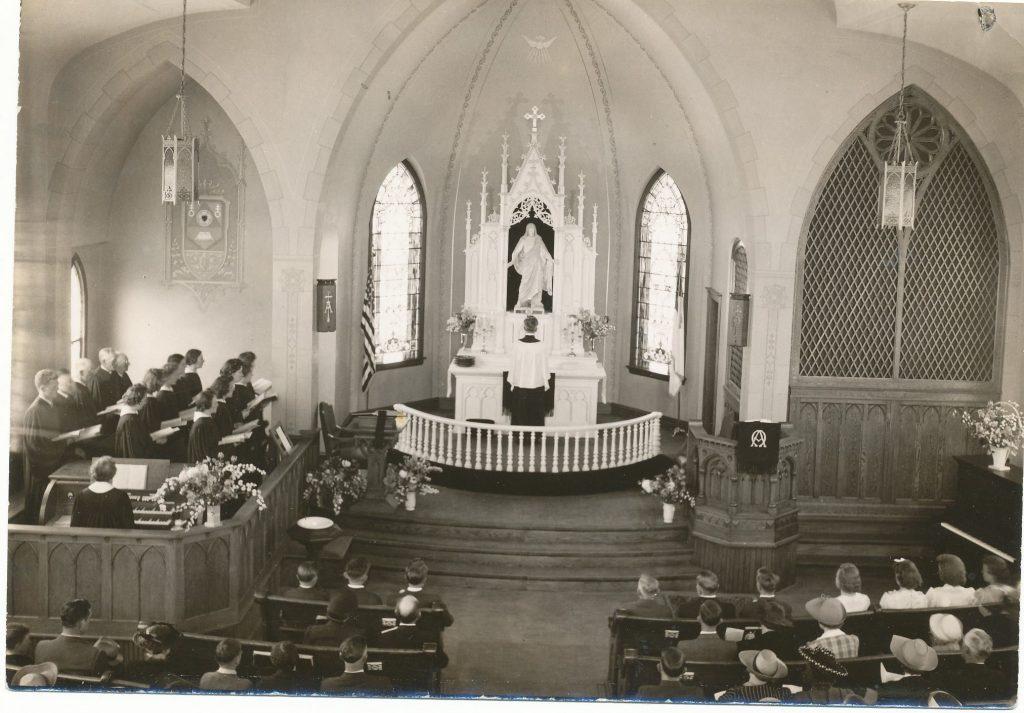 Jefferson Prairie's sanctuary past and present.