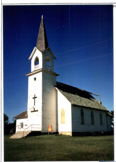 Tunbridge Lutheran Church. Rugby, ND.