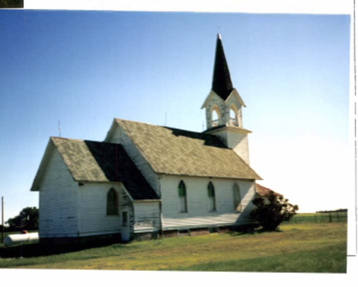Tunbridge Lutheran Church. Rugby, ND.
