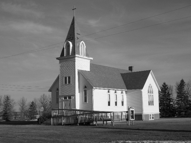 Savo Lutheran Church is built in a cross-shaped plan designed by 15-year-old Hella Keranen, daughter of Pastor Peter Keranen.